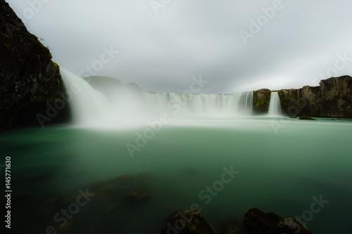 Godafoss waterfall in Iceland - 145771630