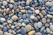 Small sea stones, gravel. Background. Textures