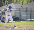 high school age baseball batter