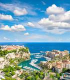 Monaco Palace Mediterranean Sea French riviera