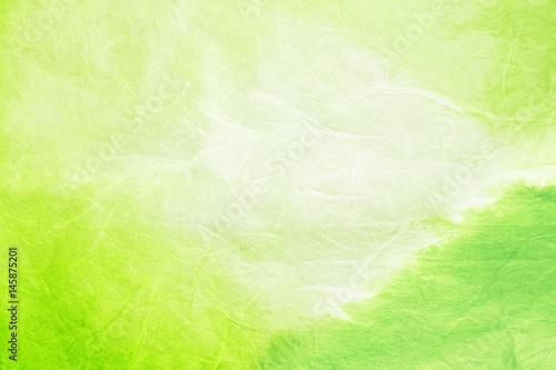和紙素材-緑
