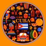 Cuba Havana round banner