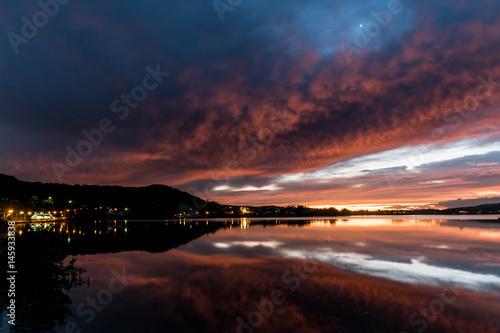 Daybreak over the Bay