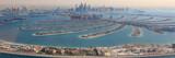 Dubai The Palm Jumeirah Palme Insel Panorama Marina Luftaufnahme Luftbild