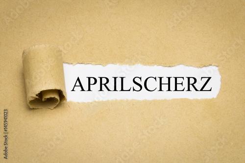 Poster Aprilscherz