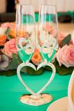 wedding glasses - 145942443