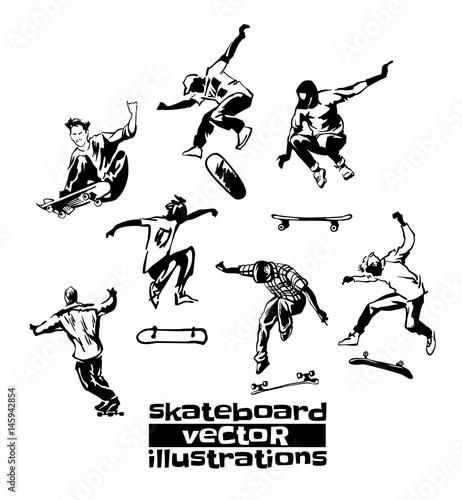 Plexiglas Skateboard Skateboarding sports activity