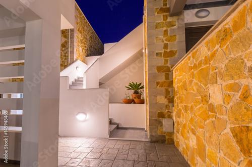 Traditionak greek architecture details on Crete