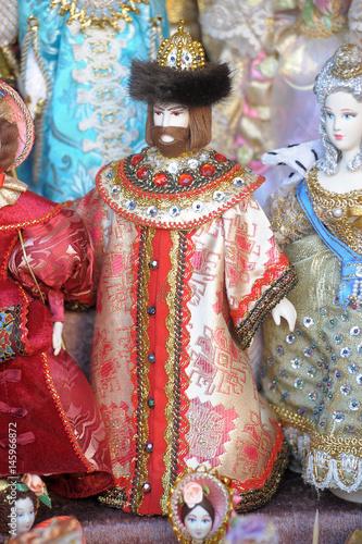 Zdjęcia Russian historical dolls in a dress