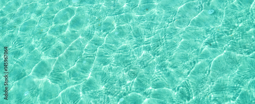 Ocean background turquoise water - 145967064