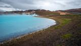 Geothermal pond, Iceland