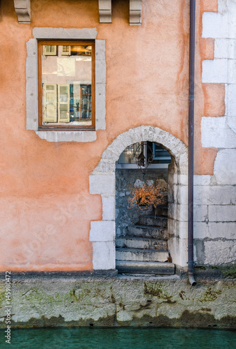 Plagát Annecy old town - Haute Savoie, France.