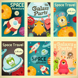 Space Posters Set - 145987847