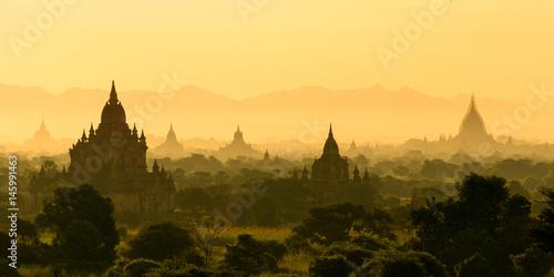 Bagan Temples Poster