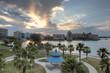 Sarasota Florida Sunrise Over Bridge Park
