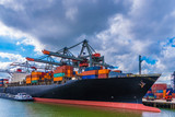 Containerschiff Rotterdam