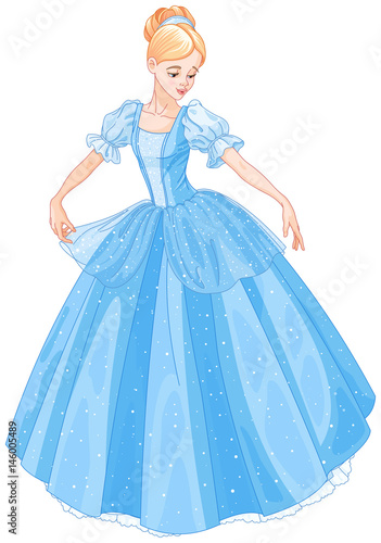 Foto op Canvas Sprookjeswereld Cinderella