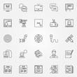 News icons set