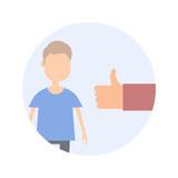 Character Check - Flat Design