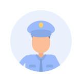 Police Vetting - Flat Design