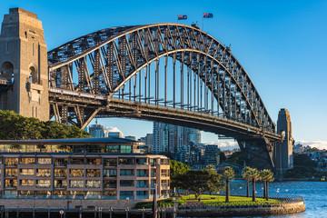 Sydney Harbour Bridge on sunny day