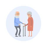 Seniors - Flat Design