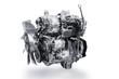 Car Engine isolated on white background with clipping path.