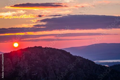 Sunrise in Bulgaria Poster