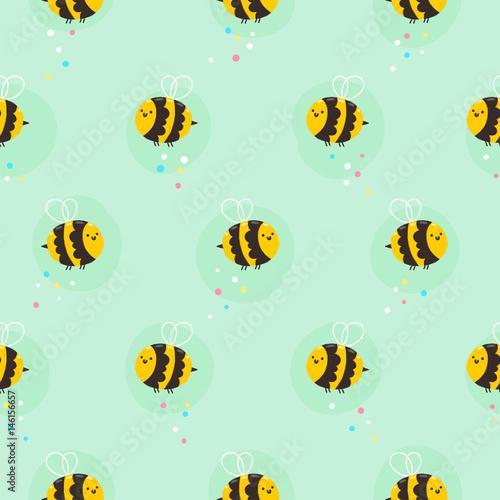 Materiał do szycia Pszczoła wzór
