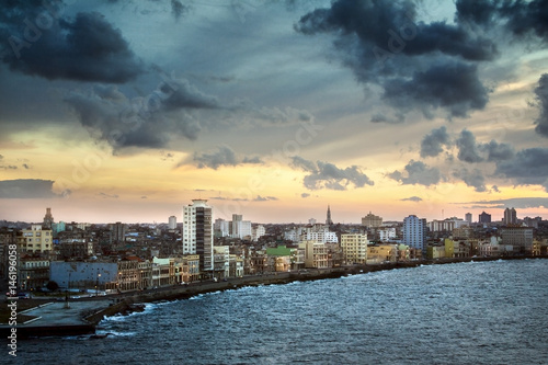 Papiers peints La Havane Skyline View of Havana Cuba