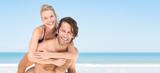 Summer couple at beach - 146219867