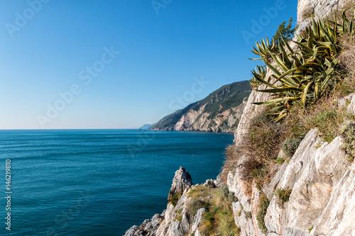 Poster Liguria da portovenere verso il ponente