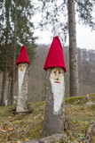 Wichtelmänner im Wald