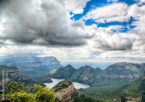 Landscape at the Blyde River Canyon, South Africa Poster