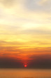Quadro Beautiful sea sunset
