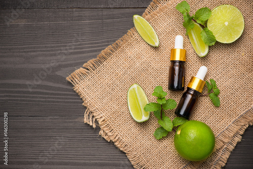 Natural cosmetics for home spa Poster