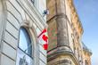 Waving Canadian flag in Ottawa