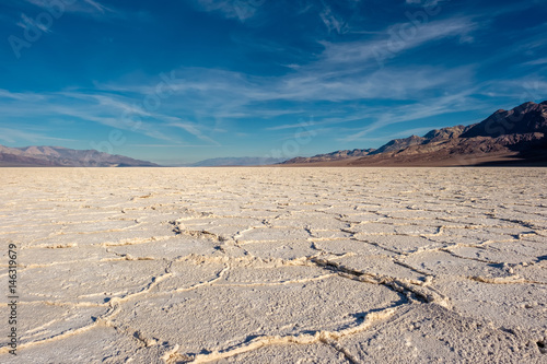 Plakat Death Valley National Park - Badwater Basin