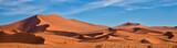 Panoramic of Sossus Dunes, Namibia - 146406246