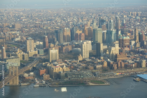 View at Brooklyn from One World Trade Center Poster