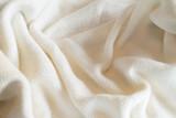 Soft Natural Cream Fabric Background