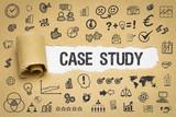 Case Study / Papier mit Symbole