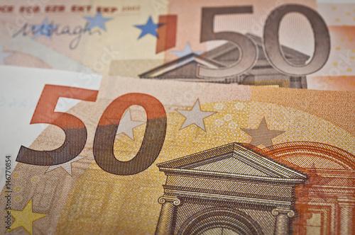 Poster neuer 50 Eurogeldschein 2017