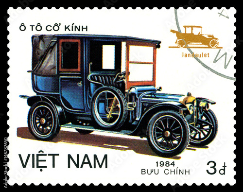 Zdjęcia Postage stamp.  Car Landaulet.