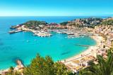Fototapety Port de Soller Mallorca Majorca Spanien Bucht
