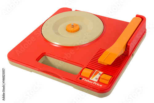 Poster Fisher-Price record player 820