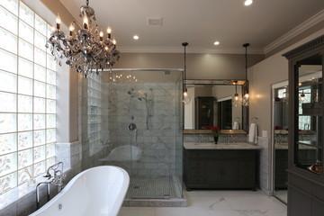 Luxury Master Bathroom - Landscape