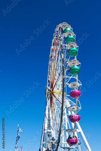 Ferris Wheel on Munich's Theresienwiese