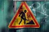 road sign in Kiev