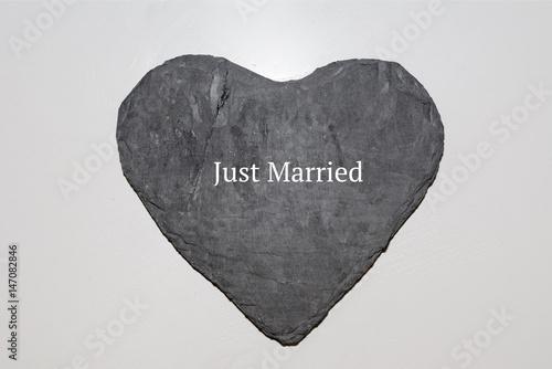 Heirat auf Herz Poster